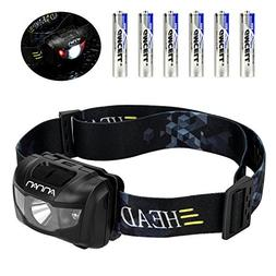 Ultra Bright LED Headlamp Flashlight, ANNAN 350 Lumens Q5 He