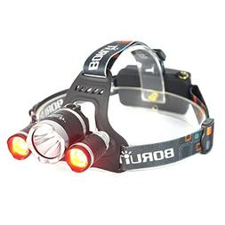 BESTSUN Ultra Bright Red LED Hunting Headlamps High Lumens T