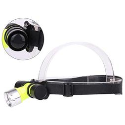 BeesClover 500lm LED Underwater Waterproof Diving Headlamp D
