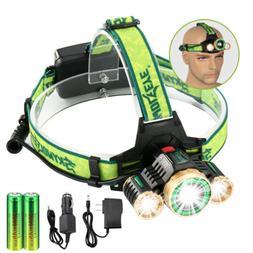 USA Stock Led Headlight Headlamp Flashlight Head Camping Hik