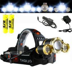 USA Super Bright 30000 lumens LED Headlamp LED Headlight 186
