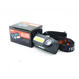 USB <font><b>Rechargeable</b></font> Headlight Q5+COB <font>