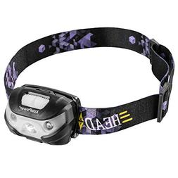 Koopower USB Rechargeable Headlamp Flashlight - 400 Lumen, U