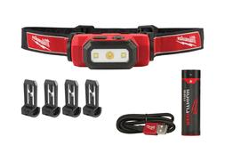 Milwaukee USB Rechargeable High Definition LED Hard Hat Head