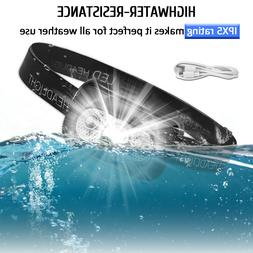 USB Rechargeable LED Headlamp Headlight Flashlight Head Lamp