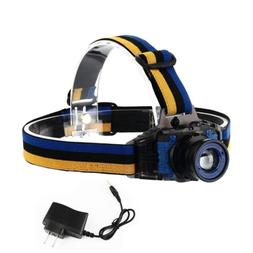 BESTSUN UV LED Headlamp Zoomable 3 Modes 395-410nm Ultraviol