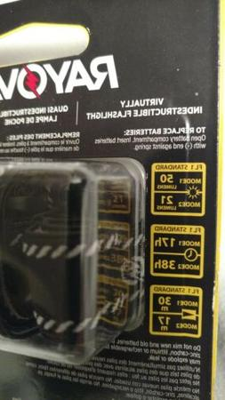 Rayovac Virtually Indestructible 50 Lumen 3AAA LED Headlight