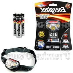 Energizer Vision HD + Focus LED Headlight 315 lumens Headlam