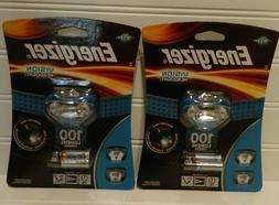 Energizer HDA32E LED Headlamp with Vision Optics and Two Mod