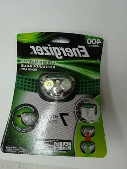 Energizer Vision Ultra Bright Rechargeable Headlamp Flashlig