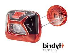 PETZL - ZIPKA Headlamp, 200 lumens, Ultra-Compact Headlamp,