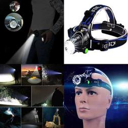 GRDE Zoomable 3 Modes Super Bright LED Headlamp W Rechargeab